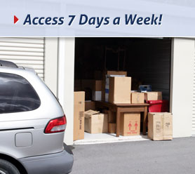 Access 7 Days a Week